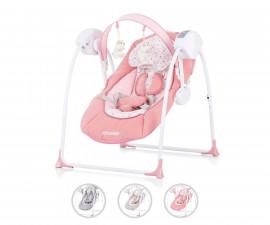 Електрическа бебешка люлка за новородено до 9 кг Chipolino Люш-люш, асортимент