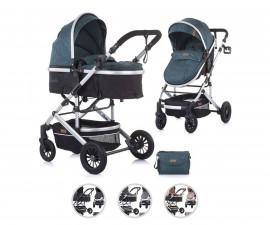 Комбинирана бебешка количка с трансформираща седалка до 15кг Chipolino Естел, бор KKES02104PN