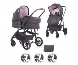 Комбинирана бебешка количка с трансформираща седалка до 22кг Chipolino Адора, асортимент