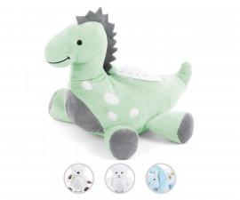Бебешка нощна лампа проектор с музикална плюшeна играчка Chipolino Toys, асортимент PIL02006DIGR