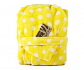 Детски халат за баня Точки, жълт, асортимент 31/00019172