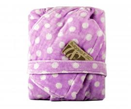 Детски халат за баня Точки, лилав, асортимент 31/00019172