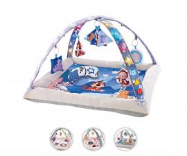 Сетеща постелка за бебета и деца, активна гимнастика Chipolino Toys, асортимент PGRML02104JP