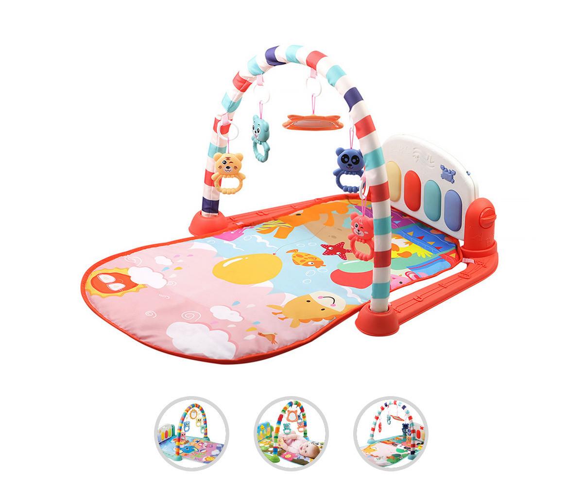 Постелка за бебета и деца, активна гимнастика Chipolino Toys, асортимент PGS02110BTM
