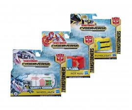Детска играчка Transformers - Киберсвят, фигура в една стъпка, асортимент