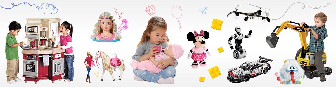 Видове играчки за деца