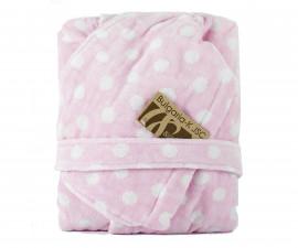 Детски халат за баня Точки, розов, асортимент 31/00019172