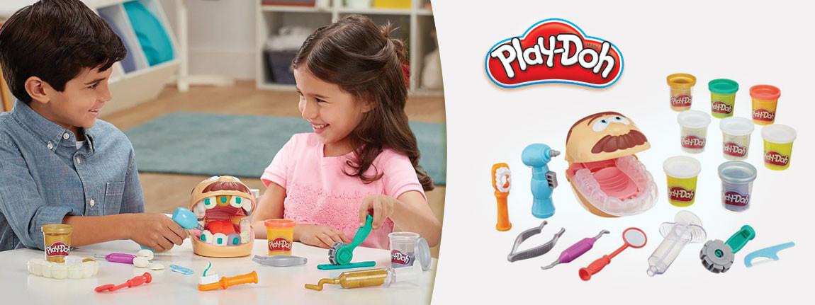Зъболекар от Play Doh