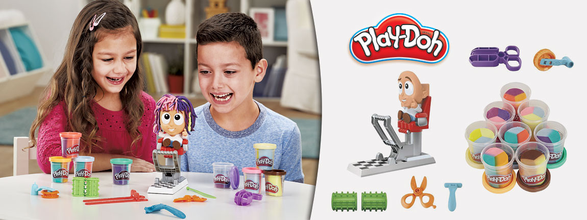Лудият фризьор от Play Doh