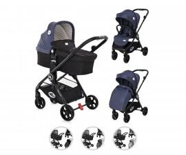 Комбинирана бебешка количка с обръщаща се седалка за деца до 15кг Lorelli Patrizia, асортимент 1002165