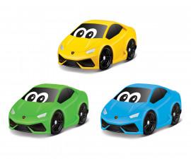 Burago Junior колички - Пластмасова количка Lamborghini Huracan, асортимент