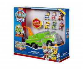 Детска играчка на тема Пес Патрул - Боклукчийски камион на Роки
