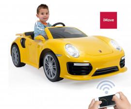 детски автомобил Injusa - Porsche 6V 911 Turbo S, за момче и момиче