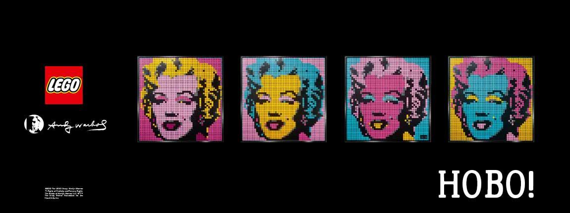 Конструктори Lego Art Мерилин Монро
