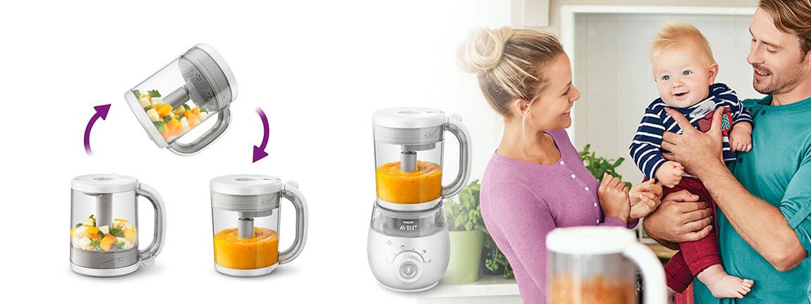 Бебешки продукти за хранене Philips Avent