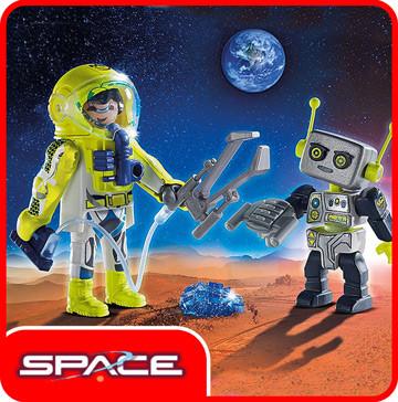 Плеймобил фигурки Space