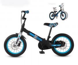 Разтегаем Велосипед/Балансбайк smarTrike Xtend Mg+ черен/син