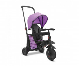 детска сгъваема триколка с родителски контрол smartFold 400, лилава 5000600