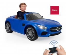 детски автомобил Injusa - Mercedes AMG GT, 6V, за момче и момиче