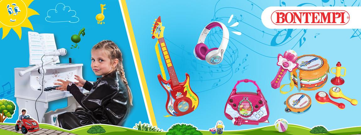 Музикални играчки Bontempi
