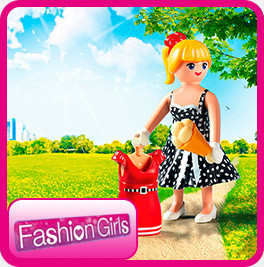 Плеймобил фигурки Fashion Girls