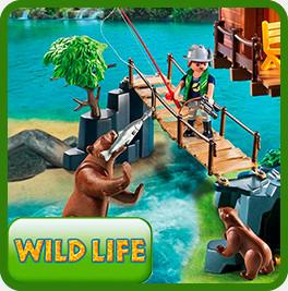 Плеймобил фигурки  Wild Life