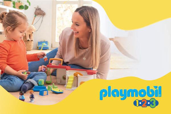 Тайната съставка на играчките Плеймобил 1.2.3 за изграждане уменията на детето от 1 до 3г.