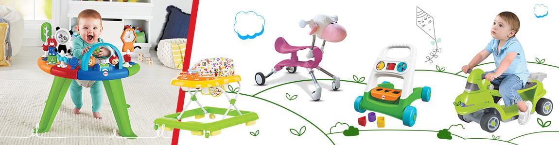 Бебешки проходилки, Бънджита и колани за прохождане