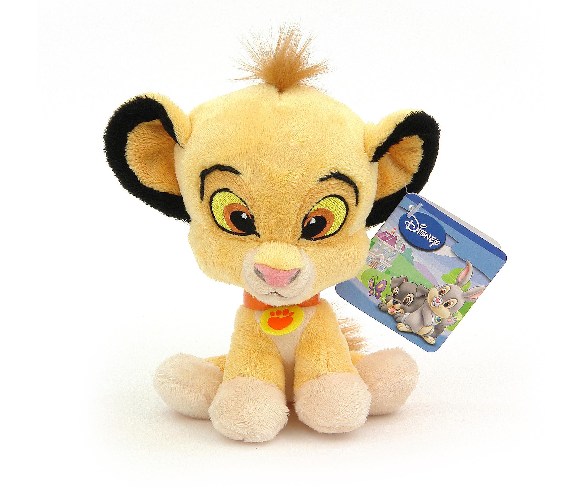 Плюшена играчка за деца от детско филмче на Disney Симба, 20см PDP0900350