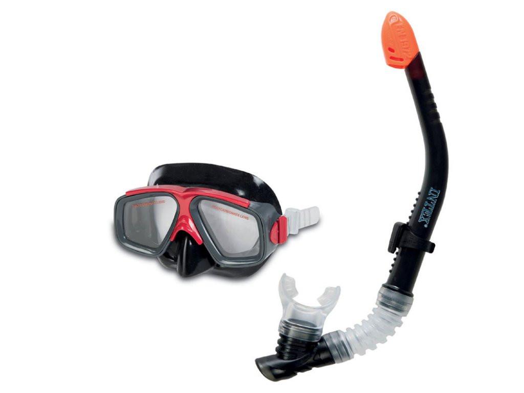 Шнорхели, маски и плавници INTEX Wet Set 55949