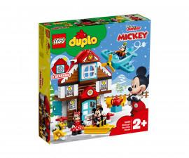 Конструктор ЛЕГО DUPLO® Disney 10889 - Къщата за почивка на Mickey
