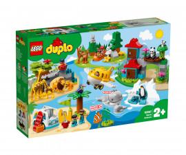 Конструктор ЛЕГО DUPLO® Town 10907 - Животни по света