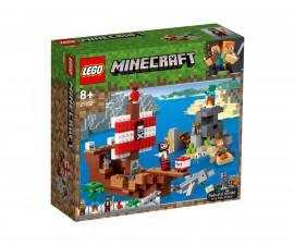 Конструктор ЛЕГО Майнкрафт 21152 - Приключение с пиратски кораб