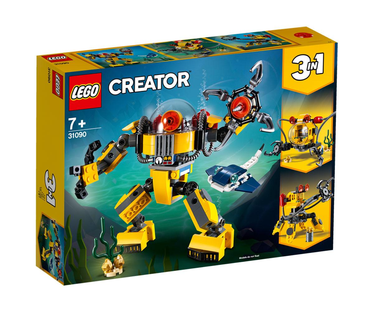 Конструктор ЛЕГО Криейтър 31090 - Подводен робот