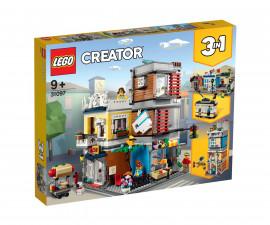 Конструктор ЛЕГО Creator 31097 - Магазин за домашни любимци и кафе