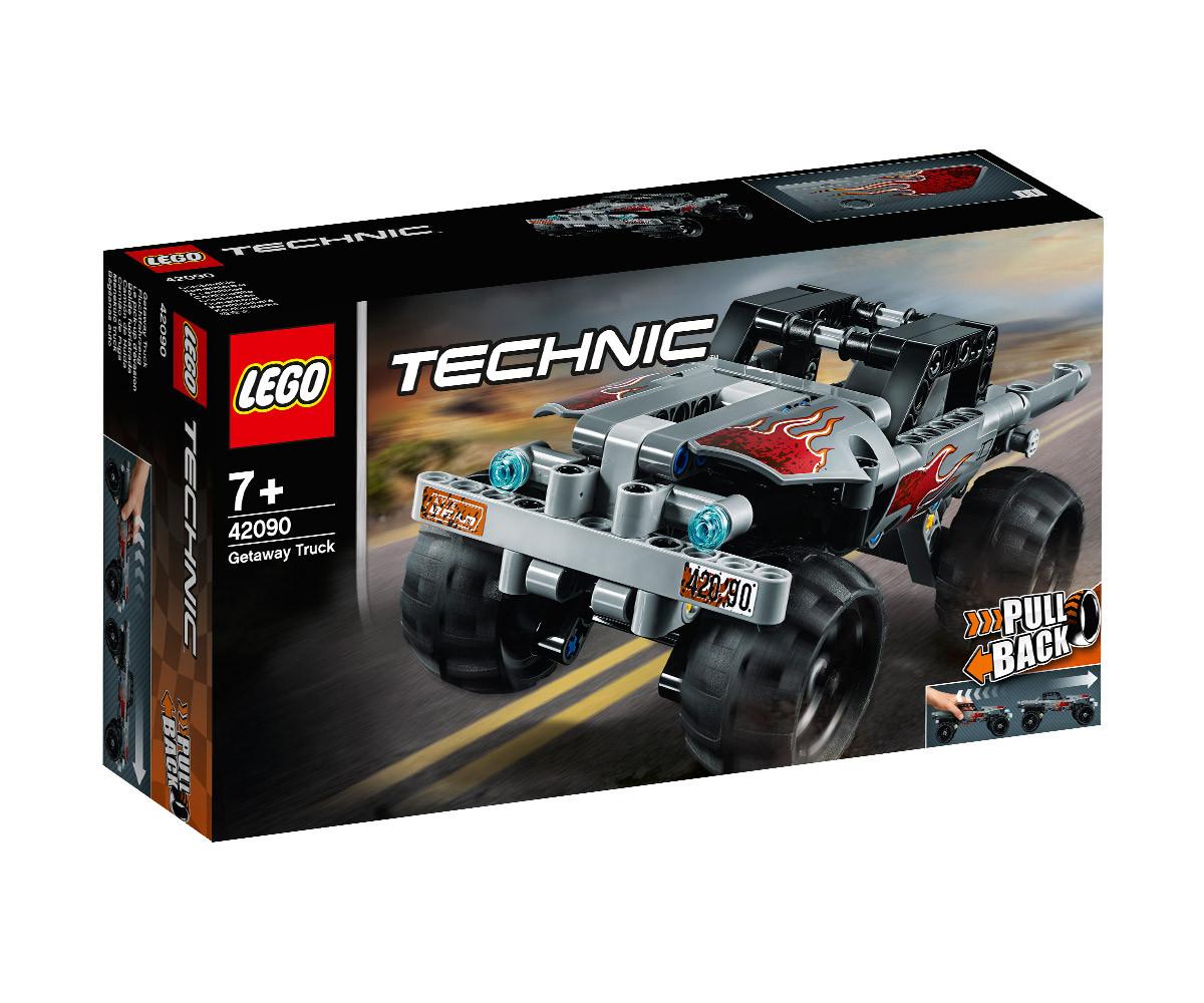 Конструктор ЛЕГО Technic 42090 - Камион за бягство