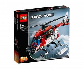 Конструктор ЛЕГО Technic 42092 - Спасителен хеликоптер
