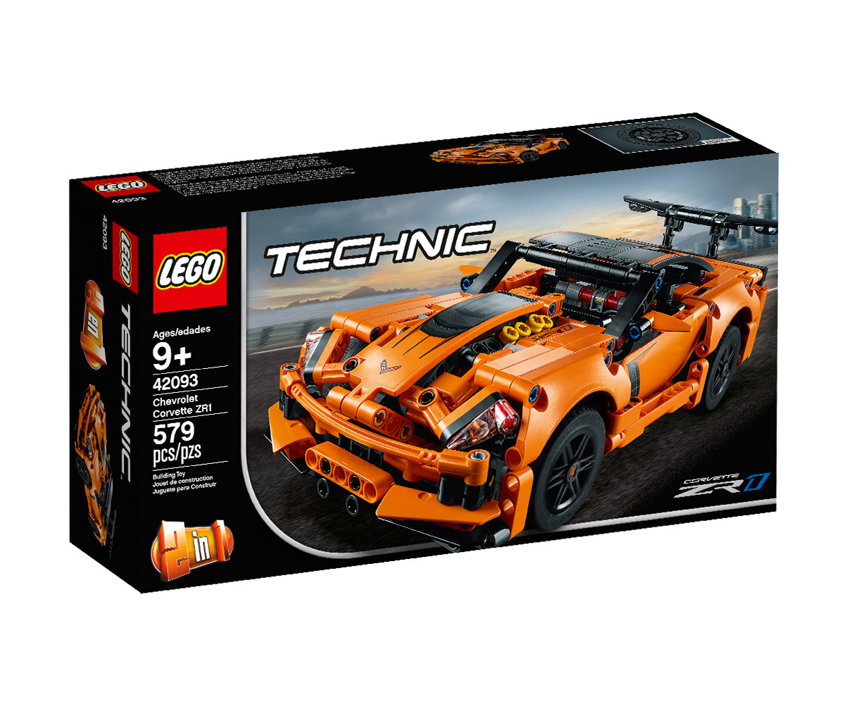 Конструктор ЛЕГО Technic 42093 - Chevrolet Corvette ZR1
