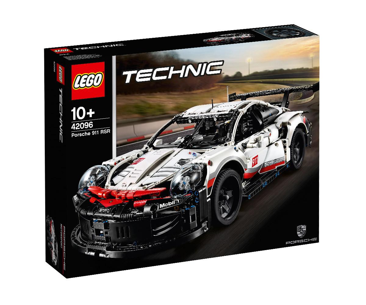 Конструктор ЛЕГО Technic 42096 - Porsche 911 RSR