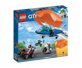 Конструктор ЛЕГО City 60208 - Полиция в небето – арест с парашут