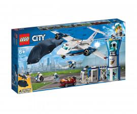 Конструктор ЛЕГО City 60210 - Полиция в небето – въздушна база
