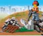 Конструктор ЛЕГО City 60219 - Строителен товарач thumb 5