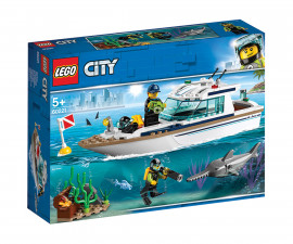 Конструктор ЛЕГО City 60221 - Яхта за гмуркане