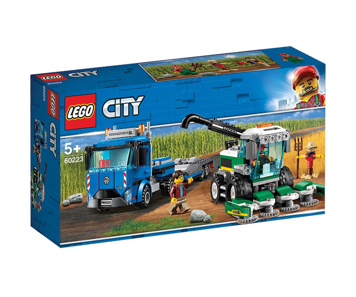Конструктор ЛЕГО City 60223 - Транспортьор за комбайни