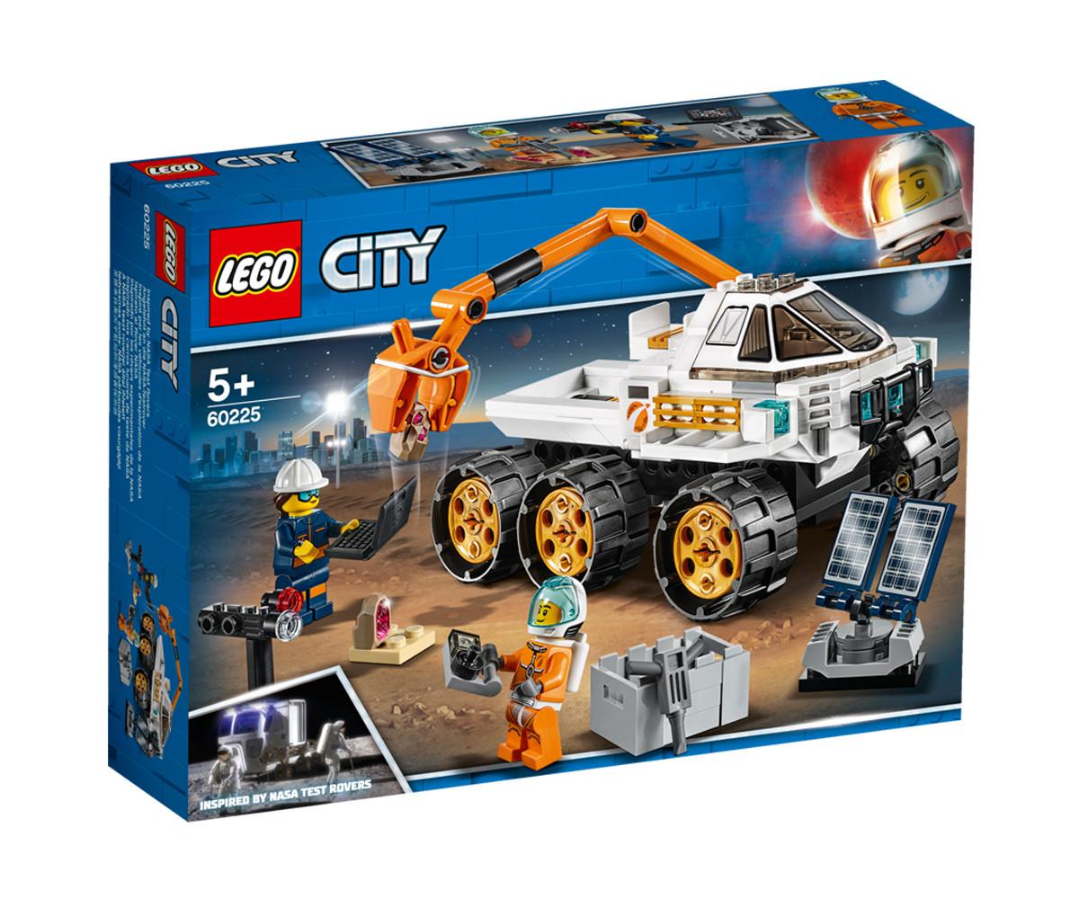Конструктор ЛЕГО City Space Port 60225 - Тестдрайв