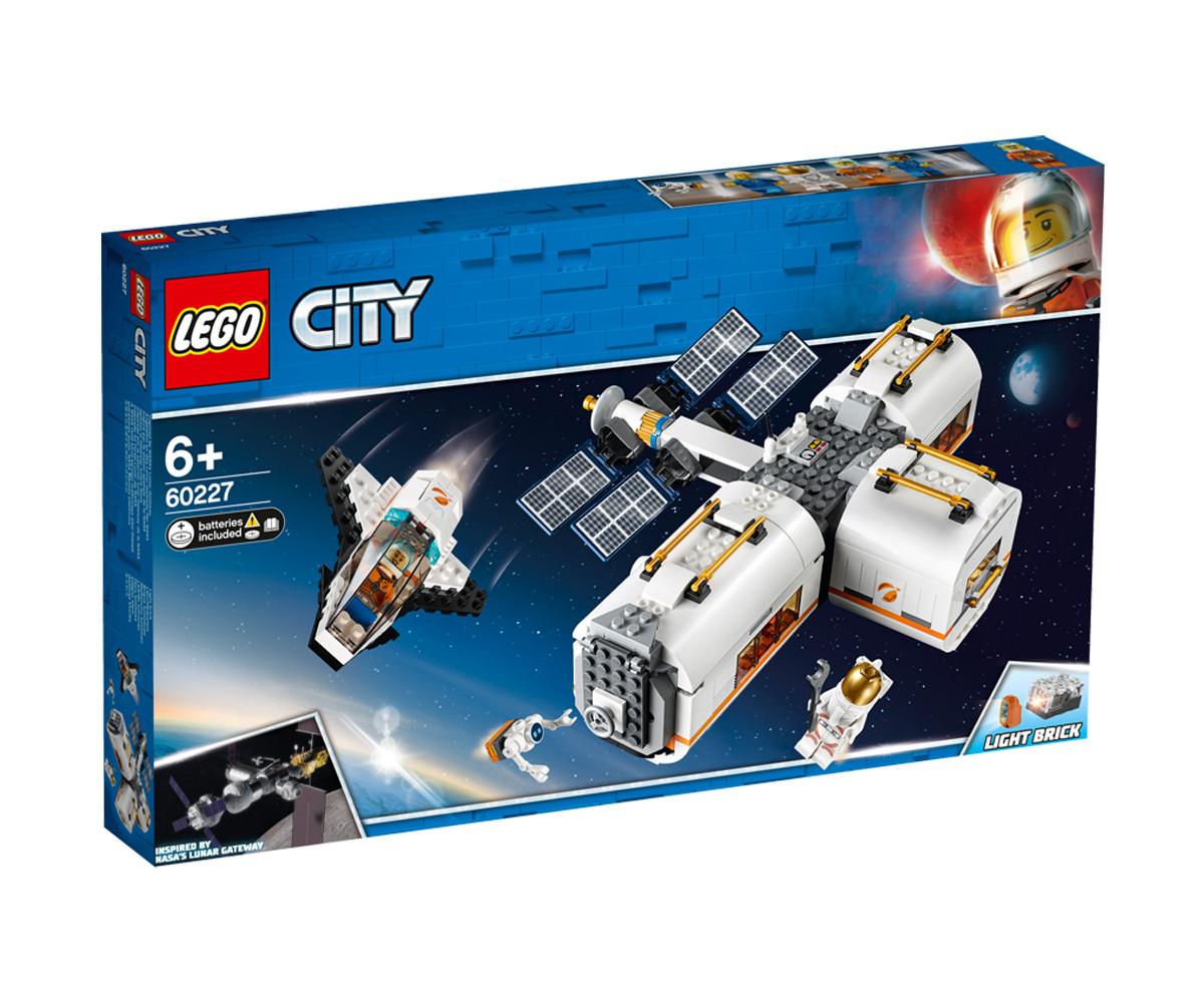 Конструктор ЛЕГО City Space Port 60227 - Лунна космическа станция