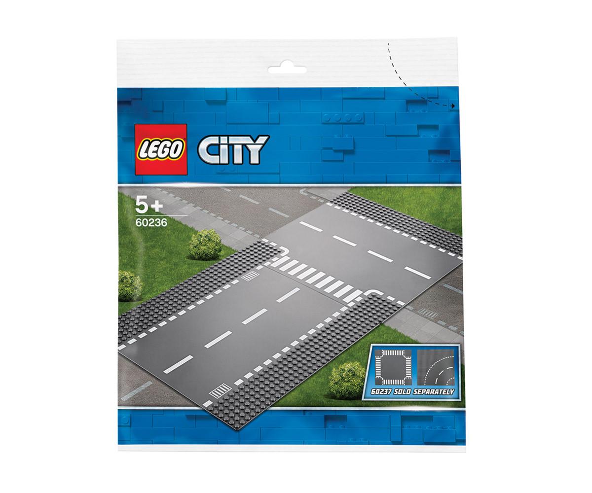 Конструктор ЛЕГО City 60236 - Права и Т-образно кръстовище