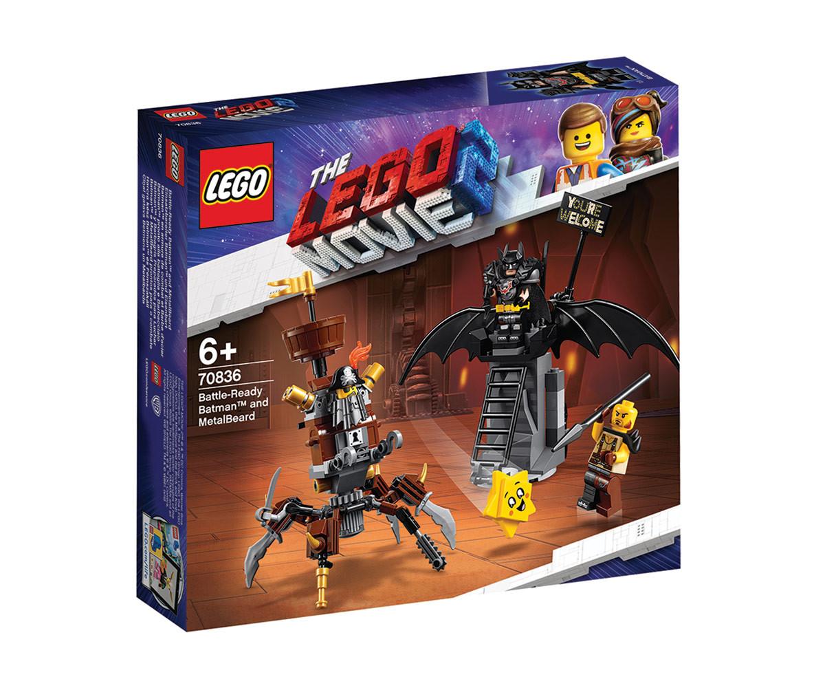Конструктор ЛЕГО Филмът 2 70836 - Батман, готов за битка, и Железният