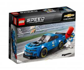 Конструктор ЛЕГО Speed Champions 75891 - Състезателна кола Chevrolet Camaro ZL1