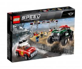 Конструктор ЛЕГО Speed Champions 75894 - 1967 Mini Cooper S Rally и 2018 MINI John Cooper Works Buggy
